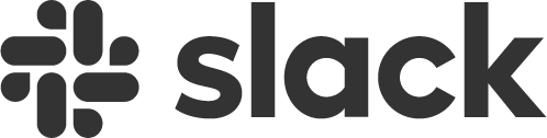 Slack Logo: a company that utilises Weploy to get on-demand temp staff