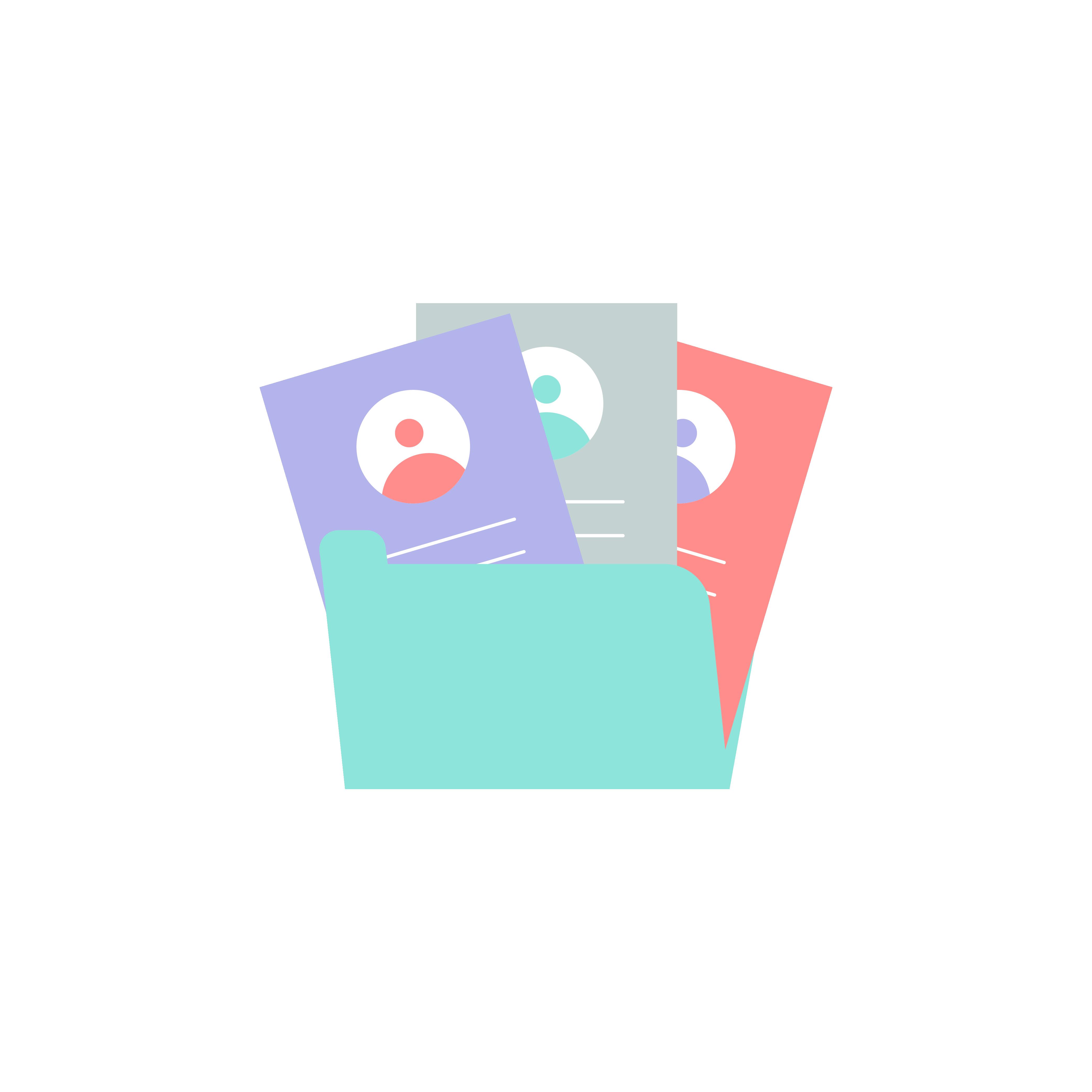Weployee Profile Folder - Weploy Illustrations 2020