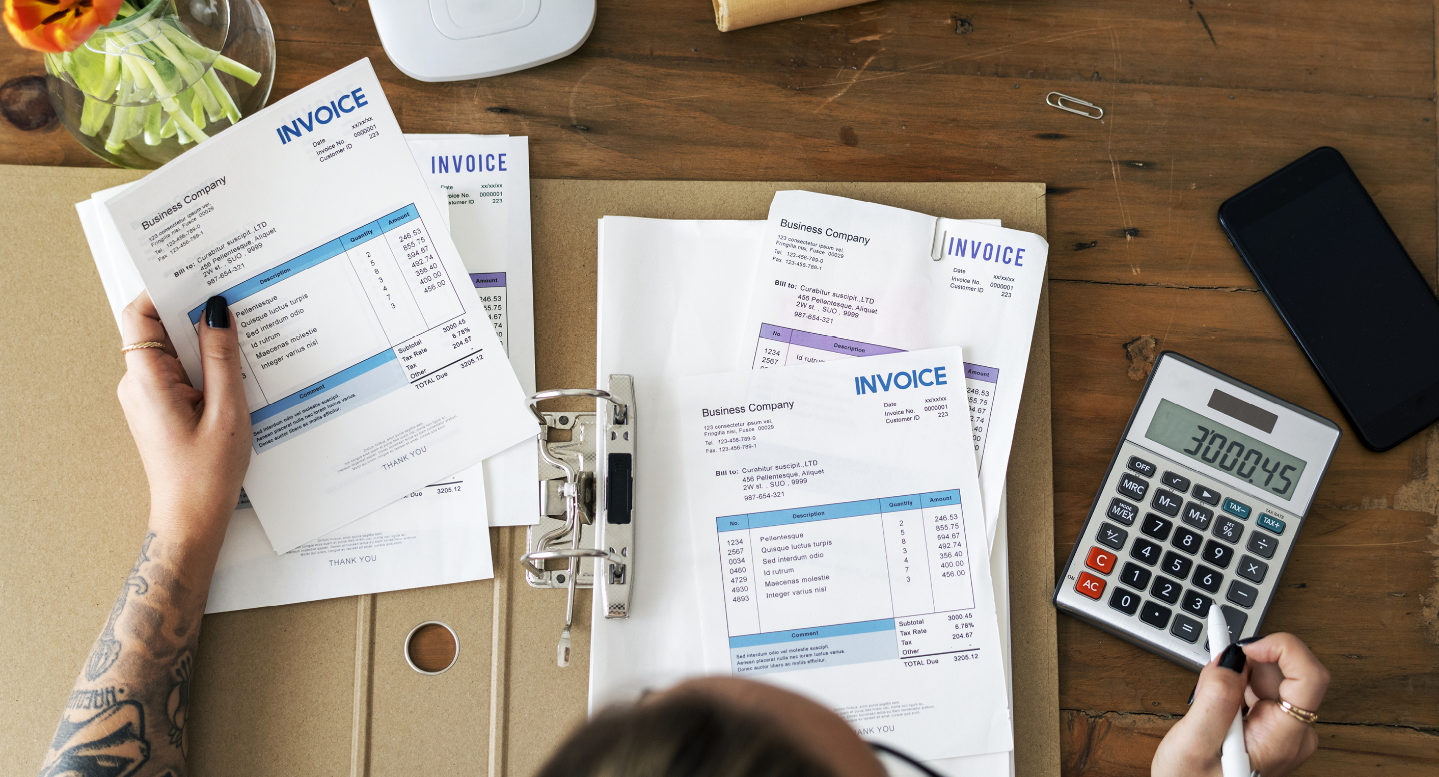 Tax Invoice - Featured Image