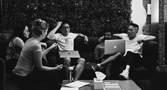 Weploy Team Brainstorming